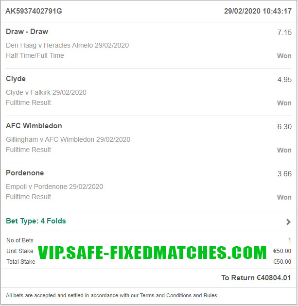 football fixed betting tips